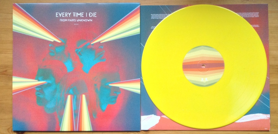 Every Time I Die From Parts Vinyl
